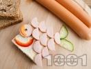 Рецепта Детски сандвич Рибка